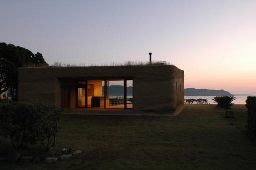 dirt house