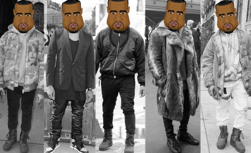 Kanye West's Fashion & Style