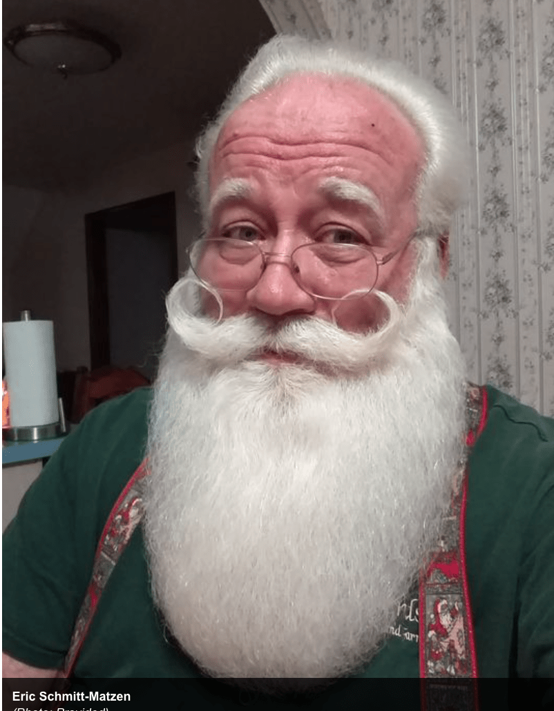 Santa Helps A Dying Boy