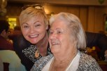 cousin Kathy and her mum, Aunty Mai