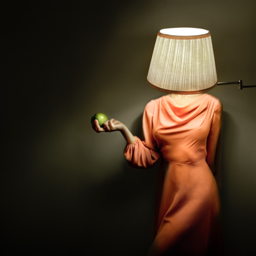 """Lamp Girl, Bar Harbor, Maine, 2012"", archival pigment print by Alicia Savage (courtesy of the artist)"