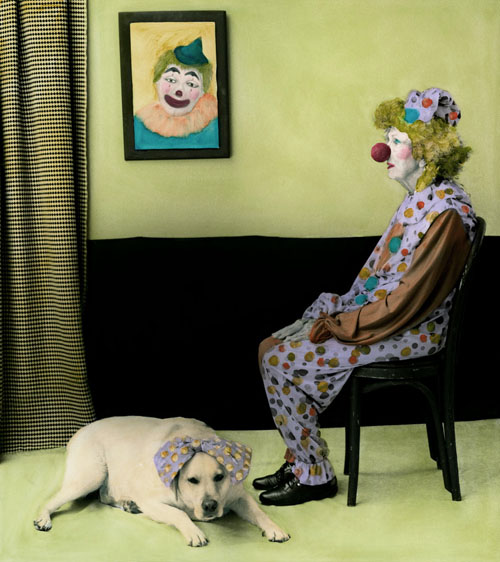 """""""Arrangement in Green and Black #20, Portrait of the Photographer's Mother"""" by Aline Smithson (courtesy of the artist)"""