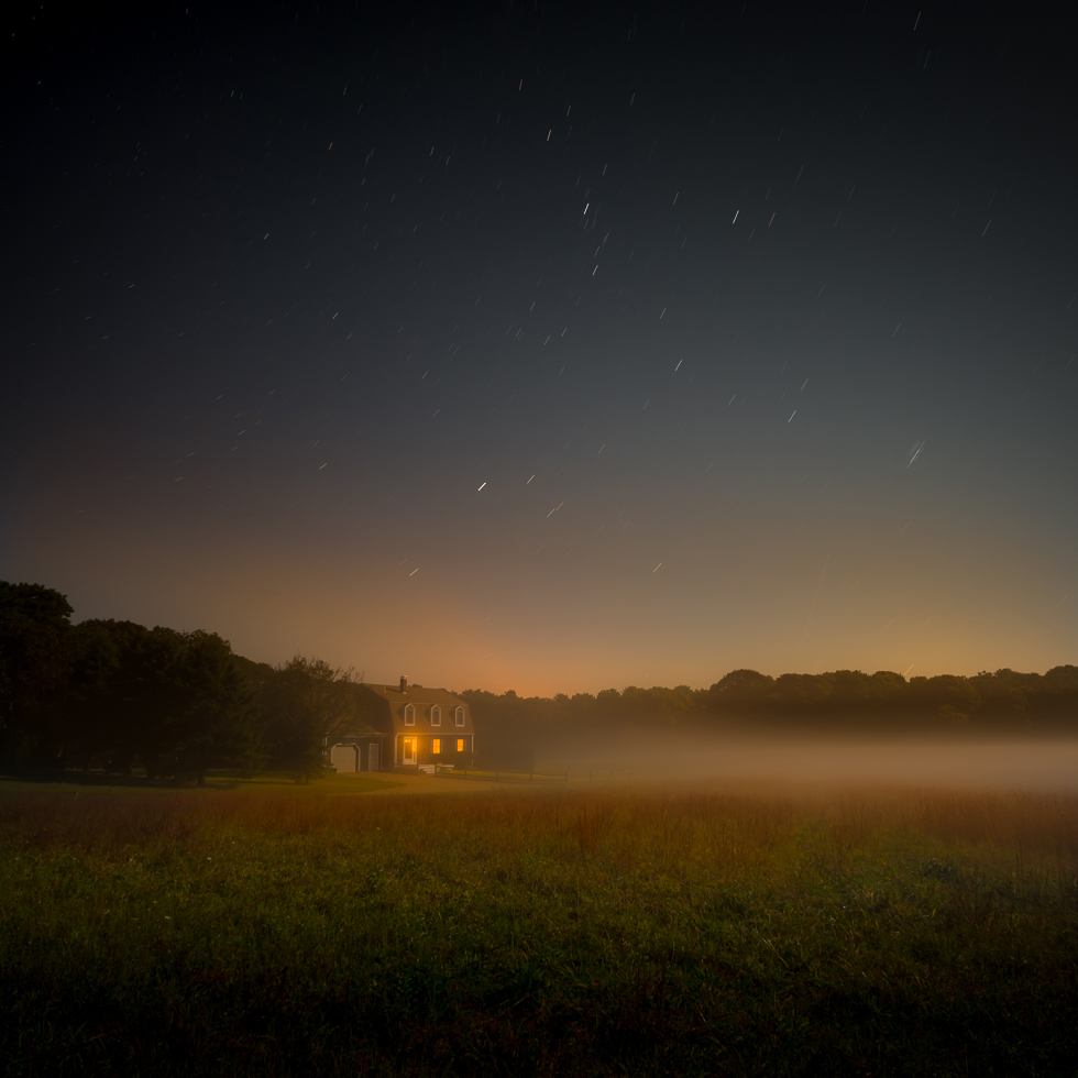 """""""Night Mist, 2013"""" archival pigment print by Bob Avakian (courtesy of the artist)"""