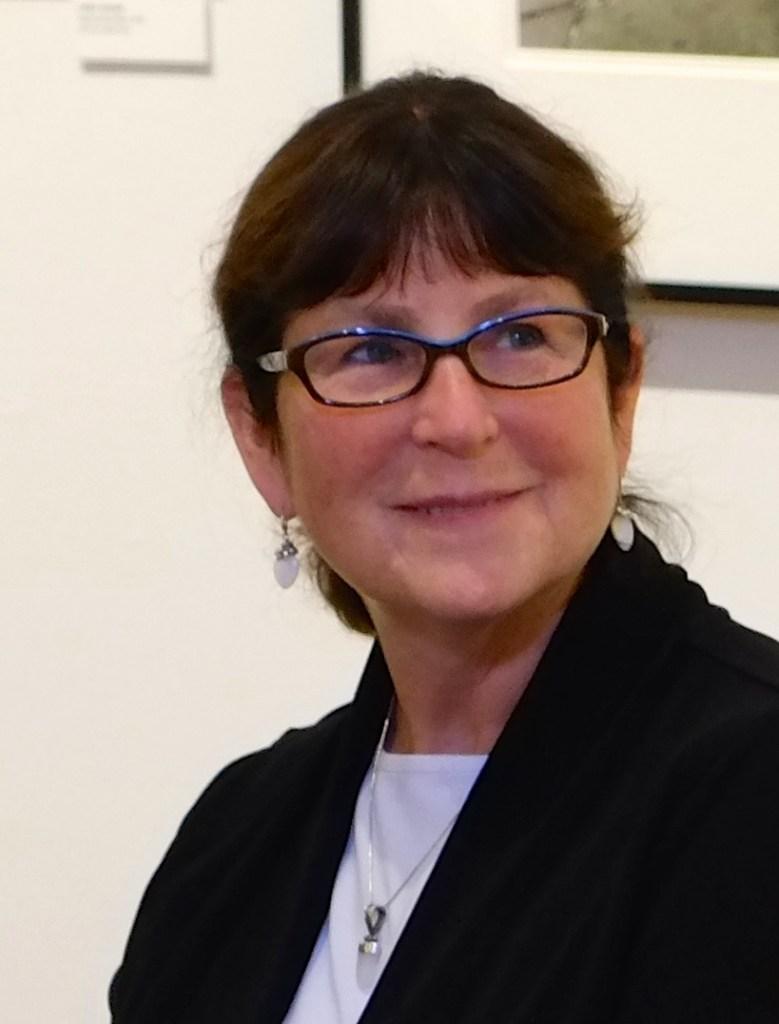 Meg Birnbaum, panelist for the Griffin Museum discussion on portfolio reviews (photo by Elin Spring)