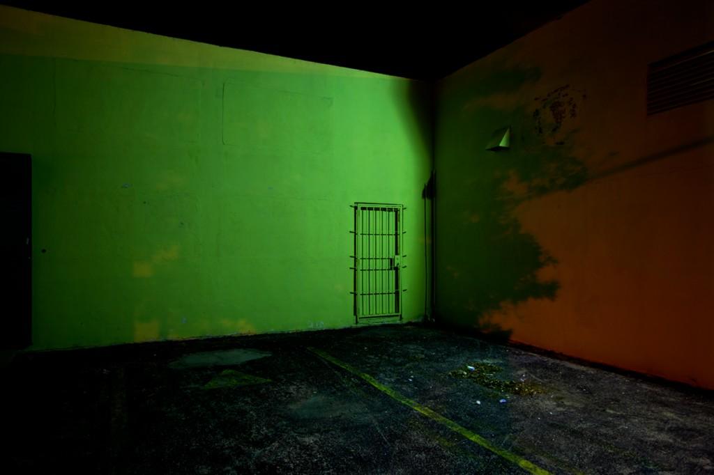 """Green Corner, 2012"", 16x24"" digital C-print by Remi Thornton (courtesy of the artist and Gallery Kayafas, Boston)"