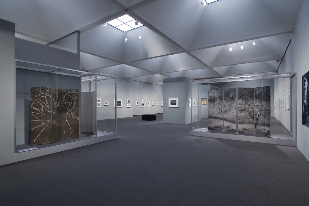 """Installation view of the MFA, Boston exhibition """"Ansel Adams"""" in 2005, curated by Karen Haas."""