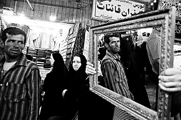 """From the series """"Mirrors of Mashhad, 2008"""" by Tahmineh Monzavi (courtesy of the artist and Robert Klein Gallery, Boston)"""