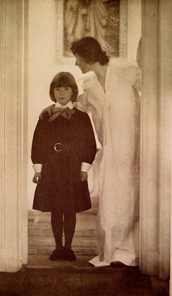 """Blessed Art Thou Among Women, 1899"" by Gertrude Kasebier"