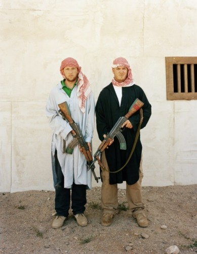 "From the series ""Simulating Iraq (2008)"" by Claire Beckett (courtesy of the artist and Carroll and Sons, Boston)"