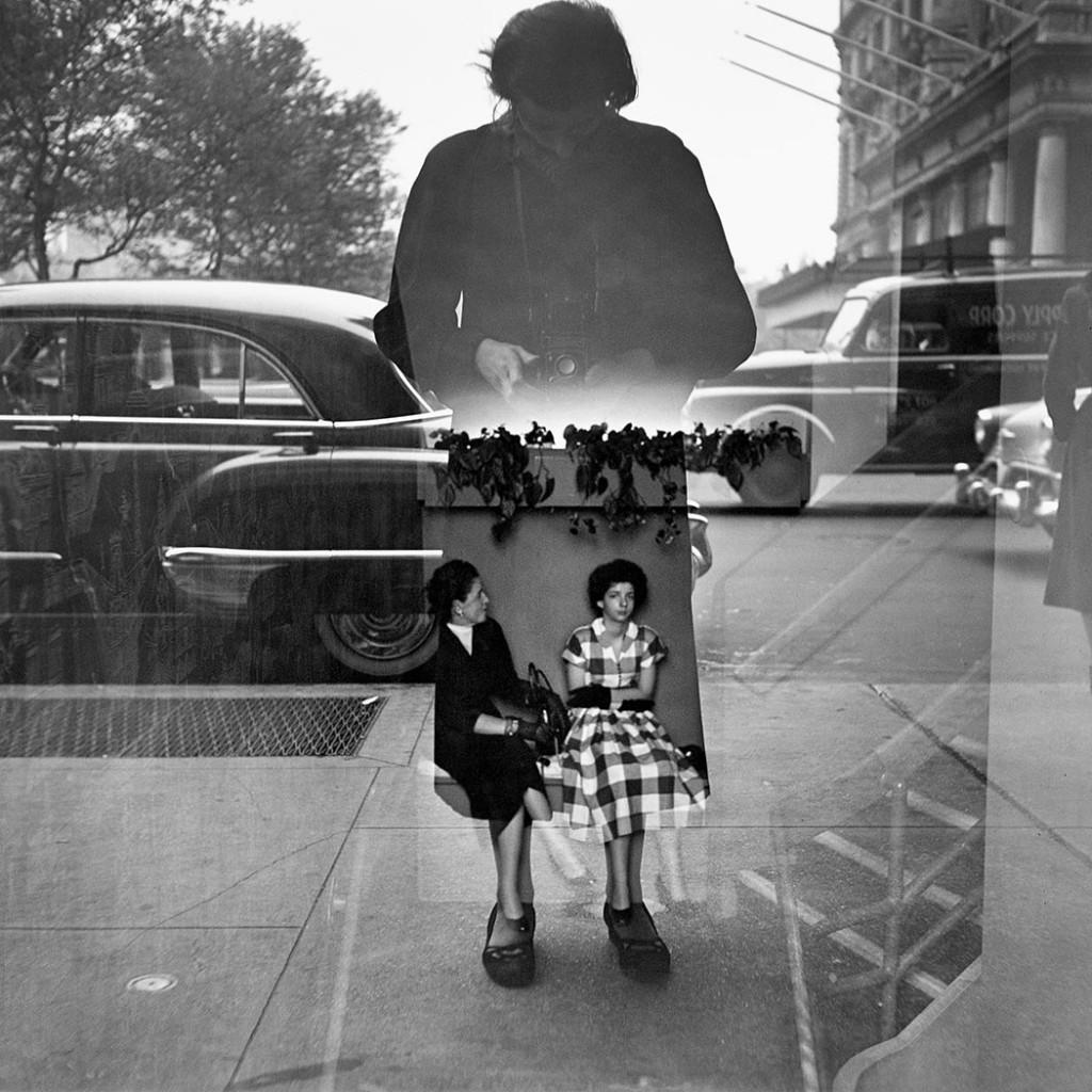 Self-portrait by Vivian Maier, 1954 (courtesy of John Maloof and Howard Greenberg Gallery, NYC).