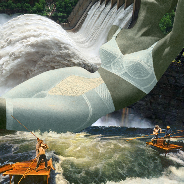 """""""Hydroelectric Power, 2015"""" from the series Fortune and the Feminine by Nadine Boughton (courtesy of the artist and Trident Gallery, Gloucester, MA)"""