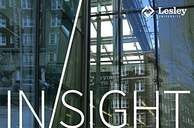 """The group show """"Insight"""" is opening at Lunder Arts Center at Lesley University in Cambridge."""