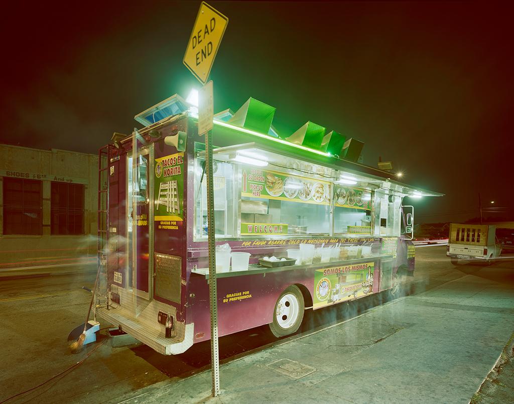 """Lakorita, Maywood, California 2009"" by Jim Dow (courtesy of the artist and Robert Klein Gallery, Boston)."