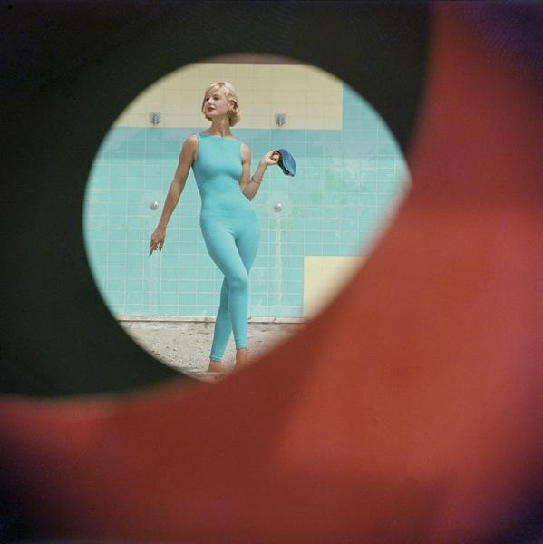 """Skin-tight suit, Malibu, California, 1958"" by Gordon Parks (courtesy of Robert Klein Gallery, Boston)"