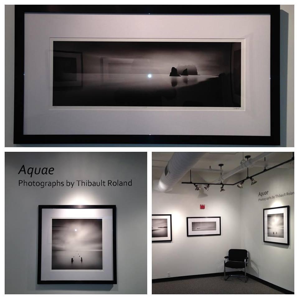 Thibault Roland exhibit at the Garner Center in NESOP, Boston.