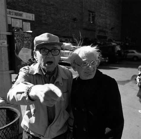 """""""New York City, 1996"""" from the series People in New York"""" by Peter Kayafas, now at Gallery Kayafas, Boston (courtesy of the artist and Gallery Kayafas, Boston)."""