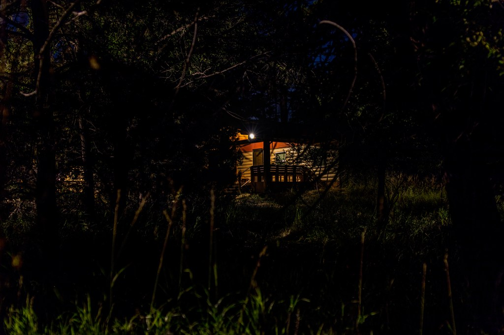 """""""Cabin 10"""" from the series JCC Ranch by Remi Thornton (courtesy of the artist and Miller Yezerski Gallery, Boston)."""