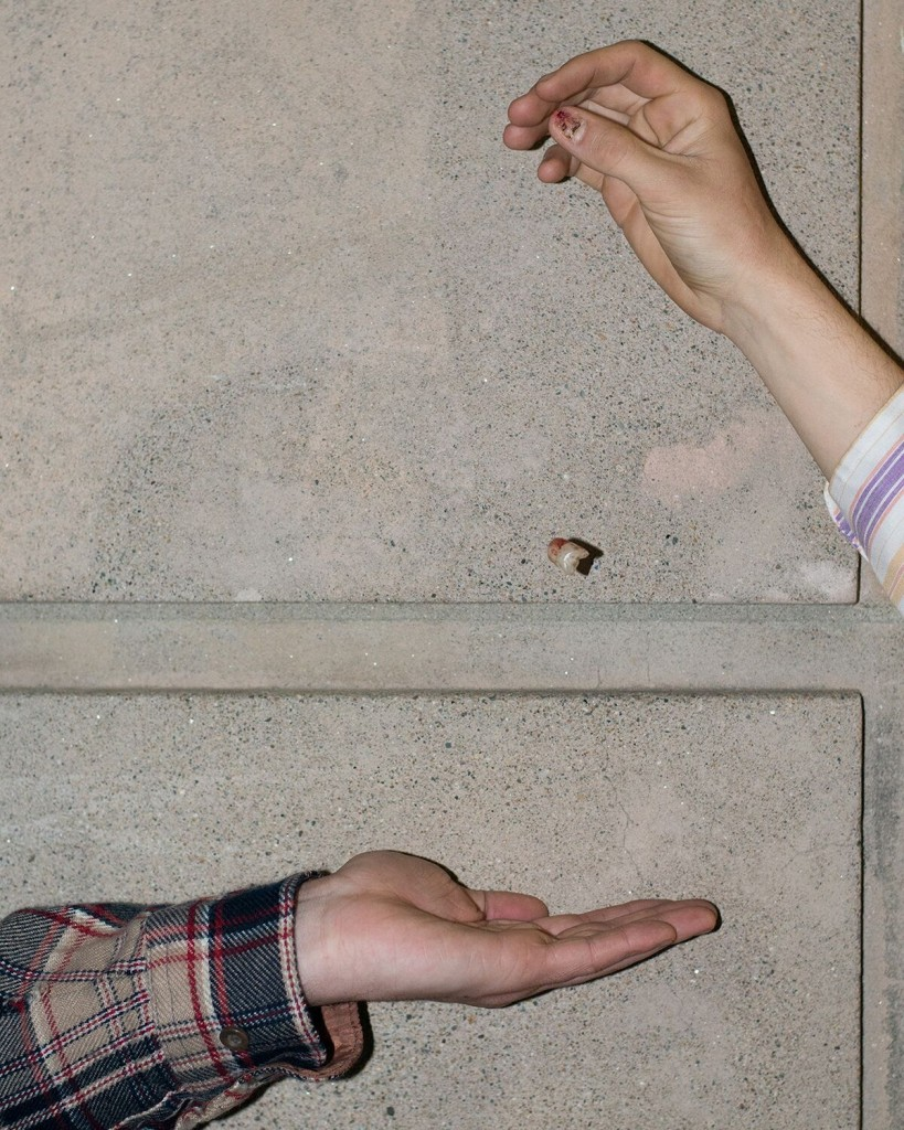 """Untitled (Clancy's Thumb Nail), 2015"" from the series ""No Limit on the Worlds"" by Lindsay Metivier (courtesy of the artist)."