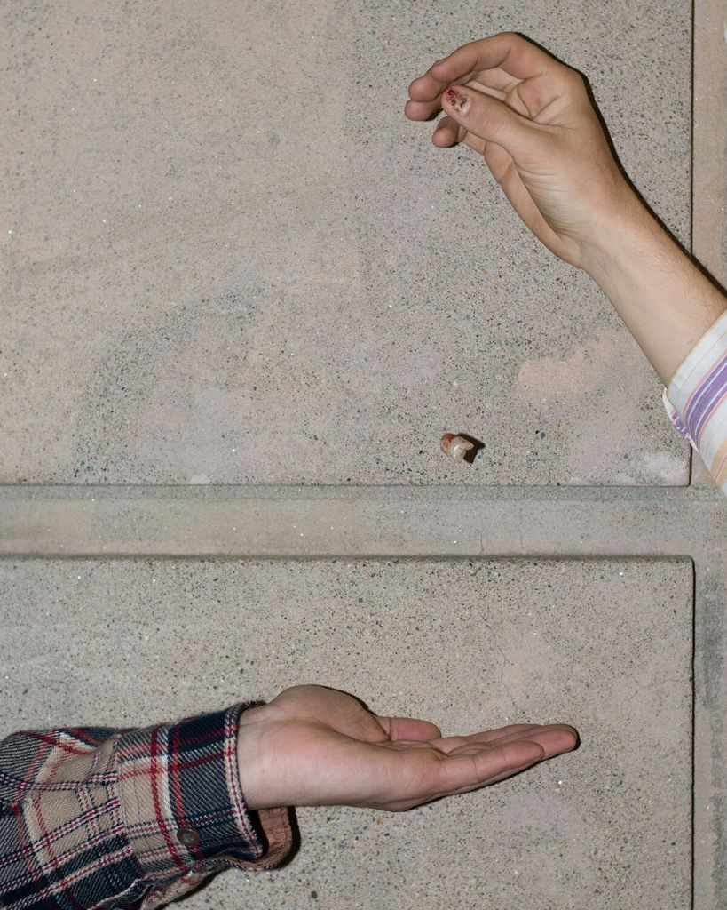 """""""Untitled (Clancy's Thumb Nail), 2015"""" from the series """"No Limit on the Worlds"""" by Lindsay Metivier (courtesy of the artist)."""