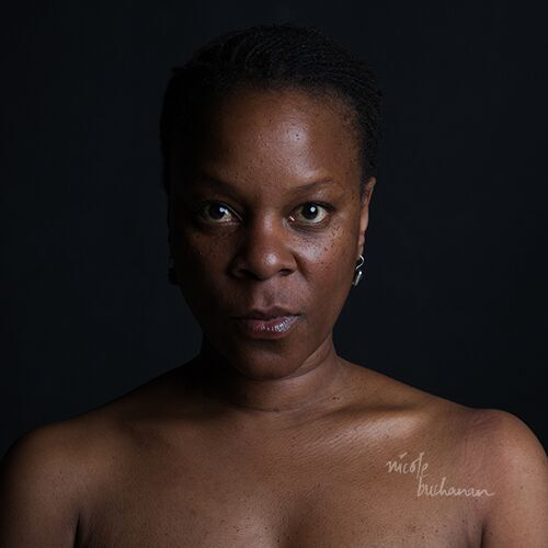 "From the series ""The Skin I'm In"" by Nicole Buchanan (courtesy of the artist and Gallery Kayafas, Boston)."