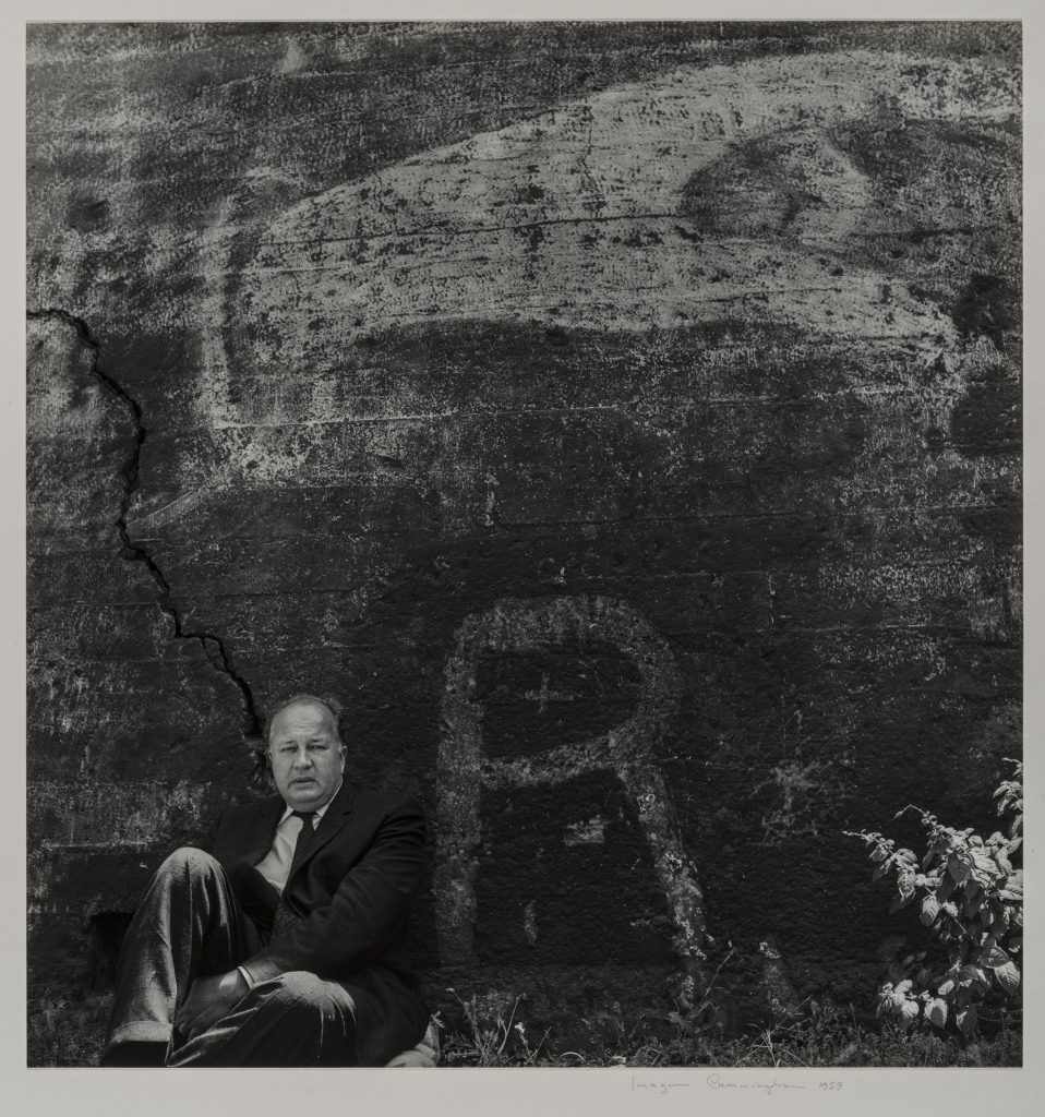 Theodore Roethke Imogen Cunningham (American, 1883–1976) 1959 Photograph, gelatin silver print * The Lane Collection * © 1959/2016 The Imogen Cunningham Trust. www.imogencunningham.com * Courtesy, Museum of Fine Arts, Boston
