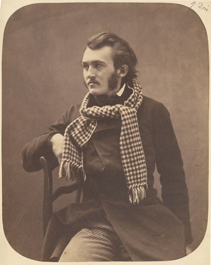 """G[ustave] Doré, 1856 – 1858"" Salted paper print