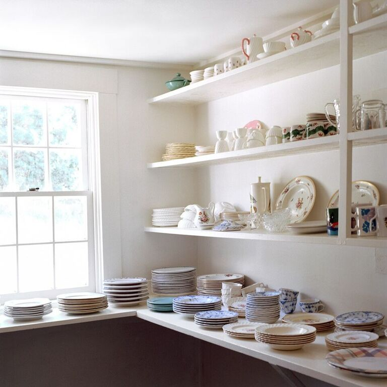 Frances Denny China Pantry (Wood's Hole, MA) 2013 © Frances F. Denny (courtesy of ClampArt, NYC)