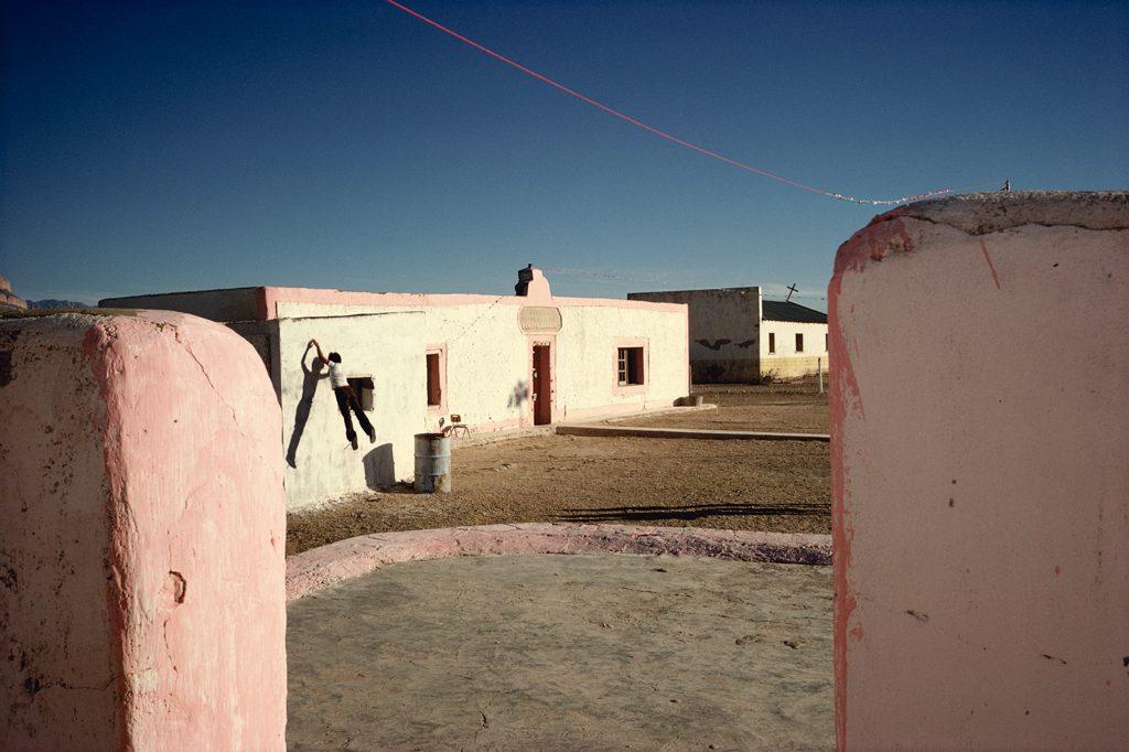"""Boquillas del Carmen, Mexico, 1979"" by Alex Webb (courtesy of Robert Klein Gallery, Boston)."