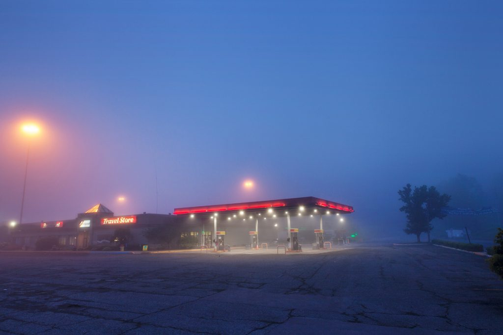 """""""24 Hour Truckstop, Pennsylvania"""" from the series We Sold A Winner by Edie Bresler (courtesy of the artist and Gallery Kayafas, Boston)."""