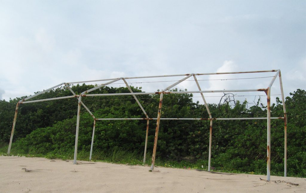 """""""Anguilla Structure 4, 2008"""" by Berendina Buist (courtesy of the artist and Griffin Museum of Photography)."""