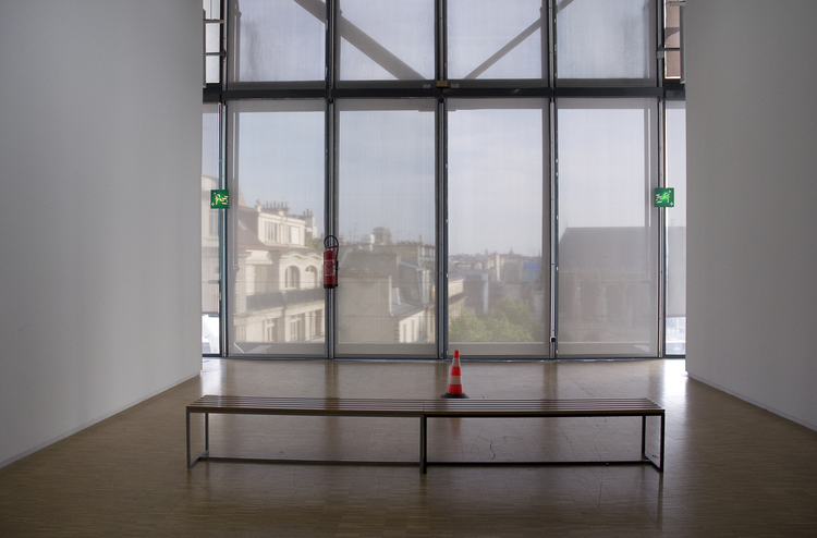 """""""Centre Pompidou 101"""" by Andrea Greitzer (courtesy of the artist and Griffin Museum of Photography)."""