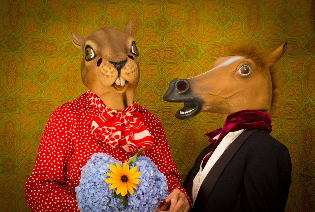 """""""Love is Blind"""" Photograph © Asia Kepka, from the book Horace and Agnes (courtesy of the artists)."""