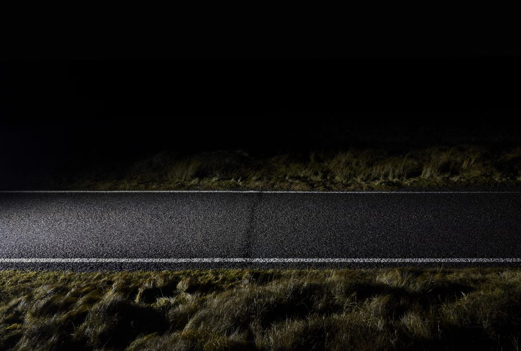 """""""Single Track Road, 2015"""" by Matthew Bender (courtesy of the artist and Griffin Museum of Photography)."""