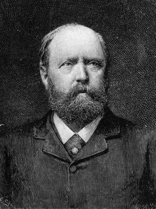 Othniel Charles Marsh. The guy who discovered it. Or did he? (Hulton Archive/Getty Images)