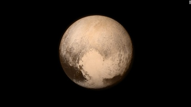 Ice mountains don't make you a planet, Pluto.
