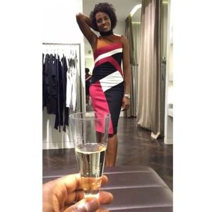 Elegant Karen Millen dress for a night out