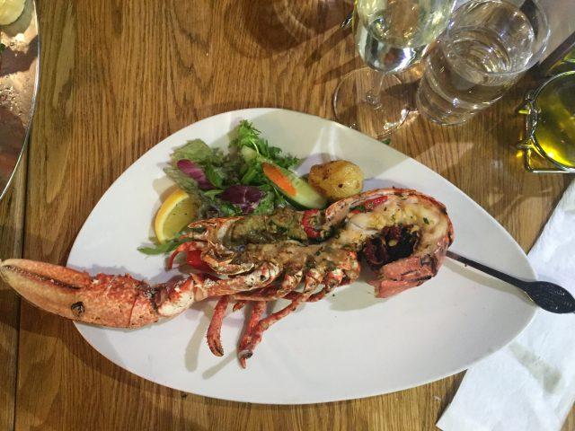 lobster at fish market bergen