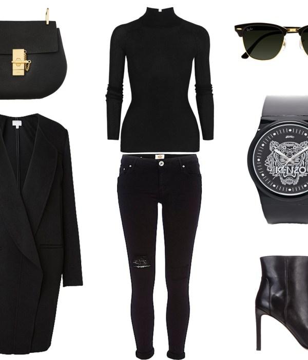 black-celine-drew-bag-kenzo-watch-all-black-outfit