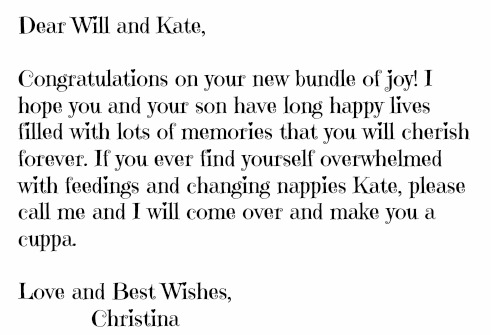 Christina best wishes