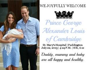 Prince of Cambridge