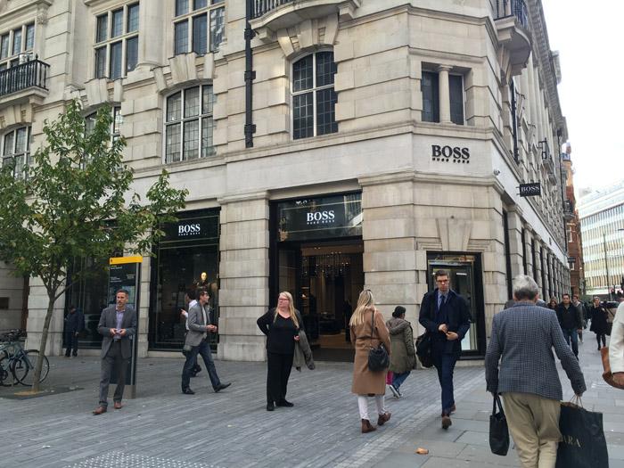 Sloane Square Hugo Boss small