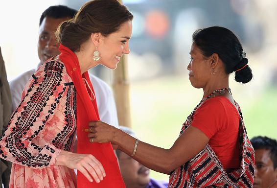 Duchess of Cambridge Day Four Fashion Royal Tour India