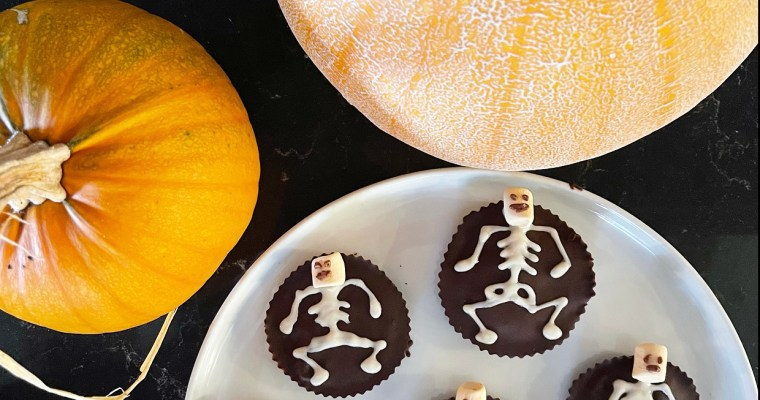 SKELETON ALMOND BUTTER CUPS