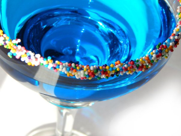 Blue Christmas cocktail