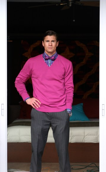 The dapper look with bow tie