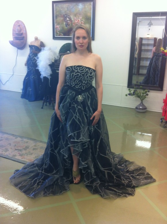 Fitting at Natalia Acosta's Boutique - Black