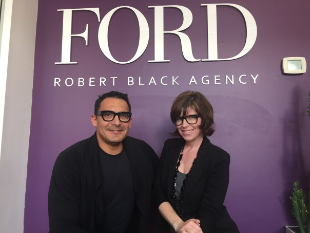 Earlier today I visited FORD/RBA to seat with my new talent agent to create strategies and business plan based on my current media exposure and brand.