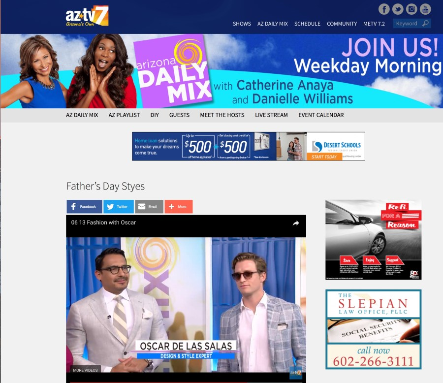 FATHER'S DAY SPECIAL ON AZTV DAILY MIX