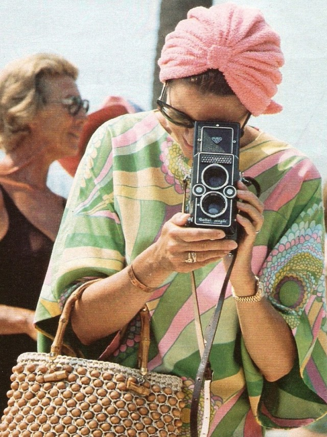 Princess Grace Kelly on a Kaftan