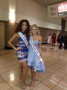 With MIss Teen Nevanda in ALs Vegas